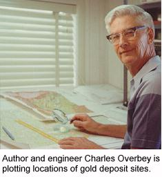 Gold Maps Author, Charles A. Overbey.